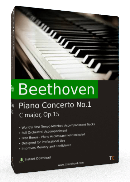Beethoven Piano Concerto No.1 C major, Op.15 Accompaniment
