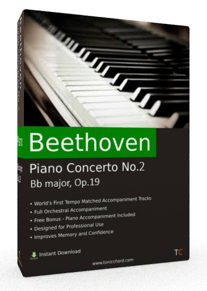 Beethoven Piano Concerto No.2 Bb major, Op.19 Accompaniment