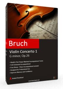 Bruch Violin Concerto No.1 G minor, Op.26 Accompaniment