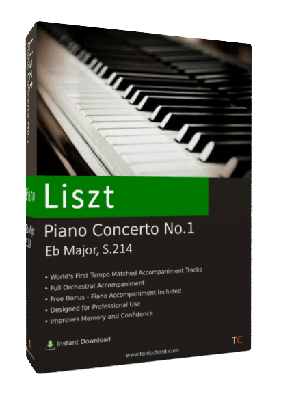 Liszt Concerto Piano No.1 Eb major S.214 Accompaniment