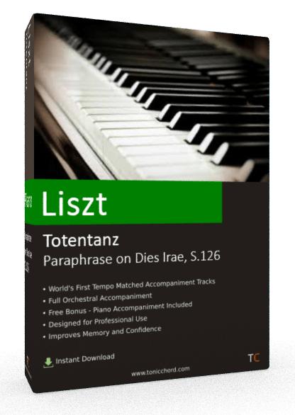 Liszt Totentanz Paraphrase on Dies Irae, S.126 Accompaniment