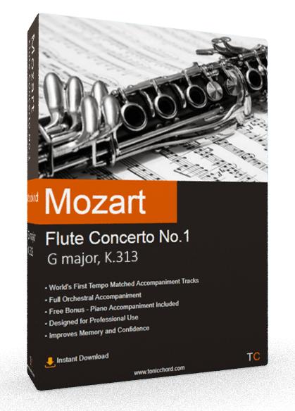 Mozart Flute Concerto No.1 G Major K.313 Accompaniment