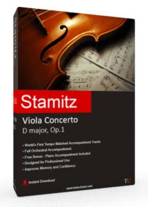 Stamitz Viola Concerto D major, Op.1 Accompaniment