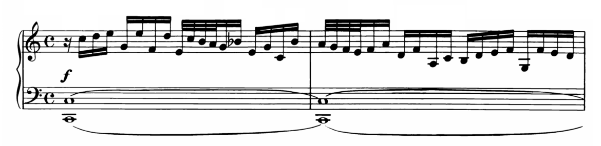 Bach Prelude and Fugue No.1 in C major BWV 870 Analysis 1