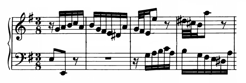 Bach Prelude and Fugue No.10 in E Minor BWV 879 Analysis 1