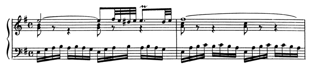 Bach Prelude and Fugue No.10 in E minor BWV 855 Analysis 1