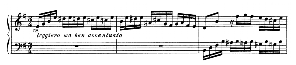 Bach Prelude and Fugue No.10 in E minor BWV 855 Analysis 2