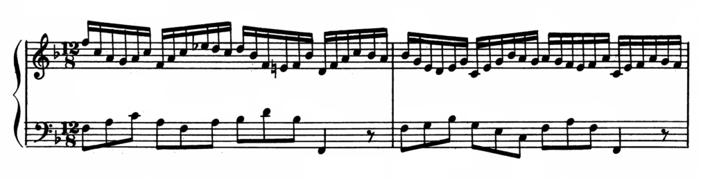 Bach Prelude and Fugue No.11 in F major BWV 856 Analysis 1