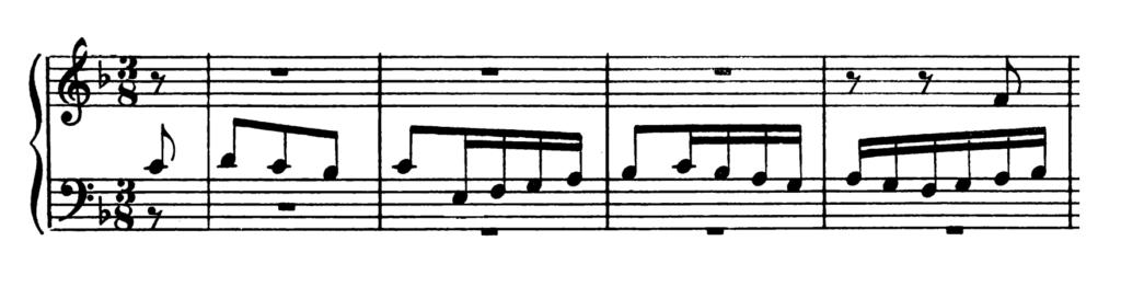Bach Prelude and Fugue No.11 in F major BWV 856 Analysis 2