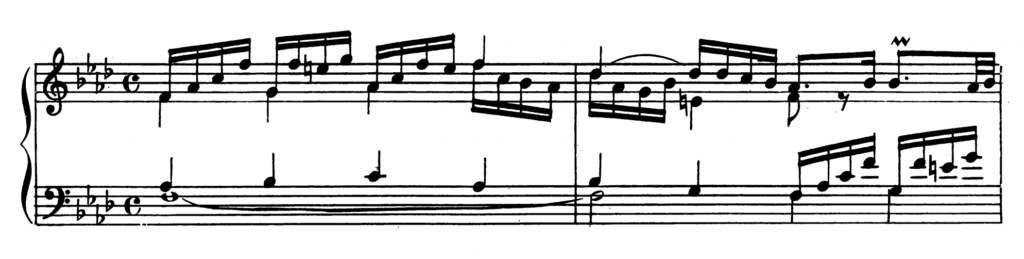 Bach Prelude and Fugue No.12 in F minor BWV 857 Analysis 1