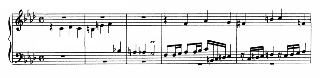 Bach Prelude and Fugue No.12 in F minor BWV 857 Analysis 2