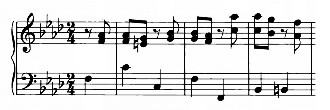 Bach Prelude and Fugue No.12 in F minor BWV 881 Analysis 1