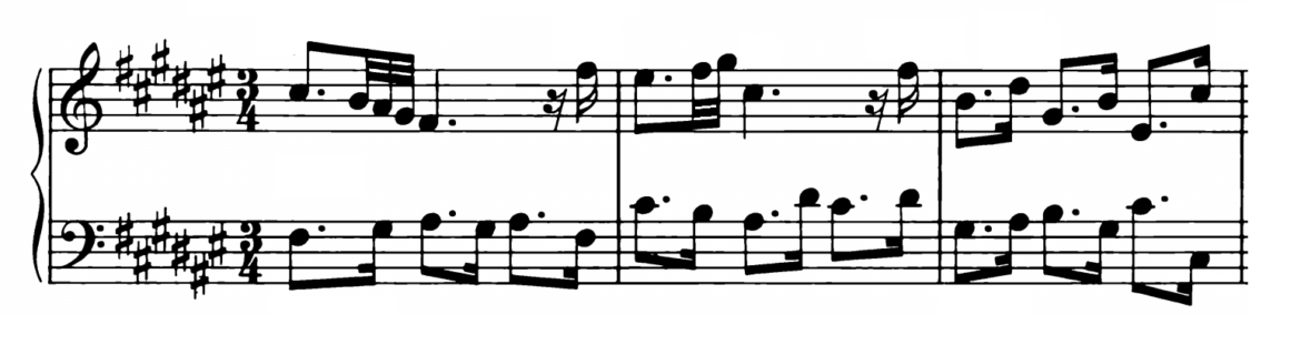Bach Prelude and Fugue No.13 in F# Major BWV 882 Analysis 1