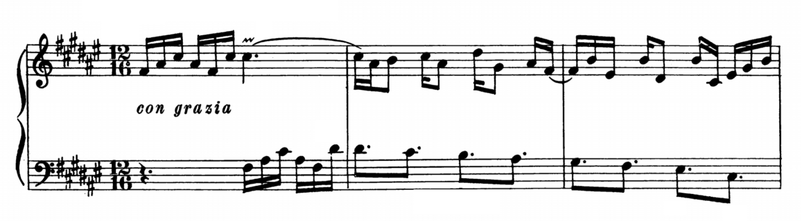 Bach Prelude and Fugue No.13 in F# major BWV 858 Analysis 1