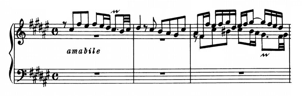 Bach Prelude and Fugue No.13 in F# major BWV 858 Analysis 2