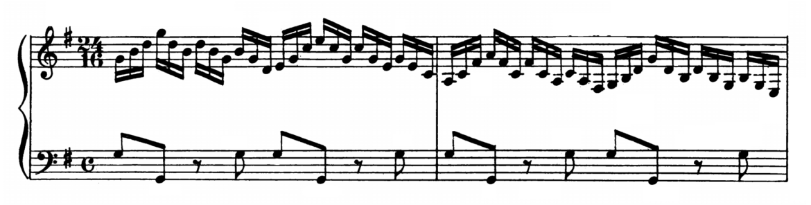 Bach Prelude and Fugue No.15 in G major BWV 860 Analysis 1
