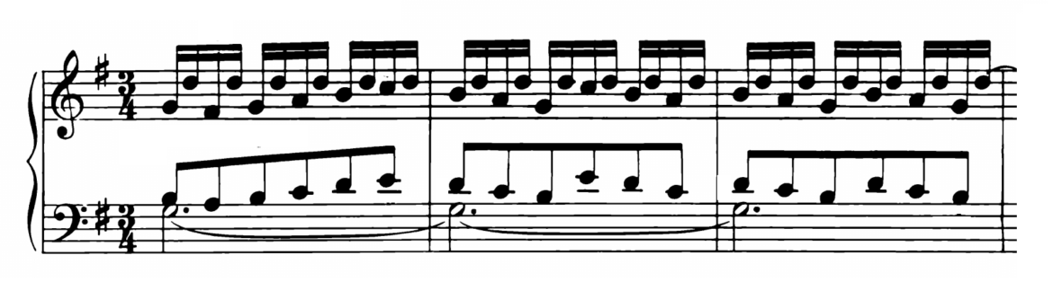Bach Prelude and Fugue No.15 in G major BWV 884 Analysis 1