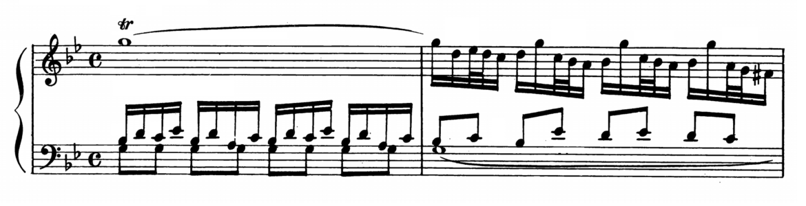 Bach Prelude and Fugue No.16 in G minor BWV 861 Analysis 1