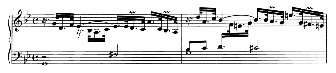 Bach Prelude and Fugue No.16 in G minor BWV 885 Analysis 1