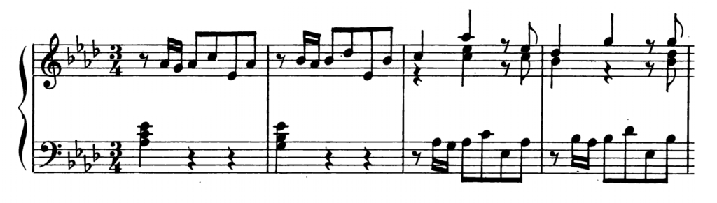 Bach Prelude and Fugue No.17 in Ab Major BWV 862 Analysis 1