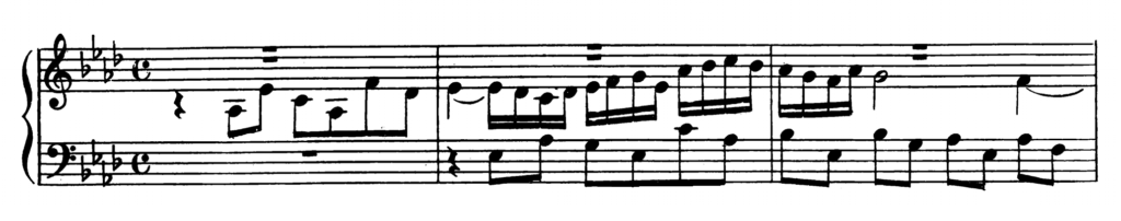 Bach Prelude and Fugue No.17 in Ab Major BWV 862 Analysis 2