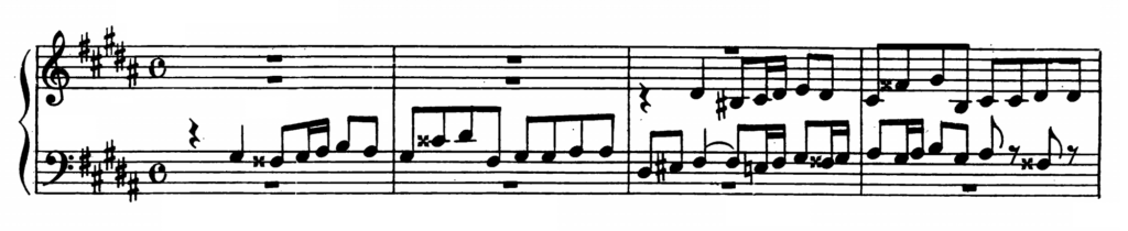 Bach Prelude and Fugue No.18 in G# minor BWV 863 Analysis 2