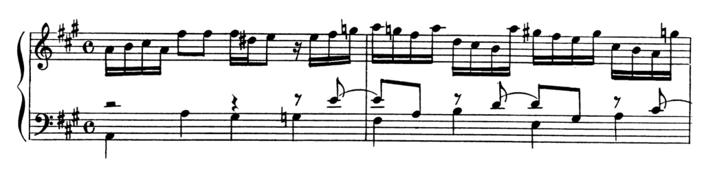 Bach Prelude and Fugue No.19 in A Major BWV 864 Analysis 1