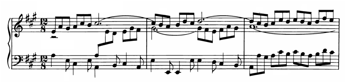 Bach Prelude and Fugue No.19 in A major BWV 888 Analysis 1