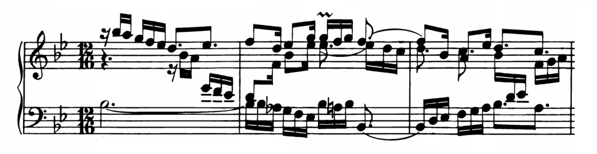 Bach Prelude and Fugue No.21 in Bb major BWV 890 Analysis 1