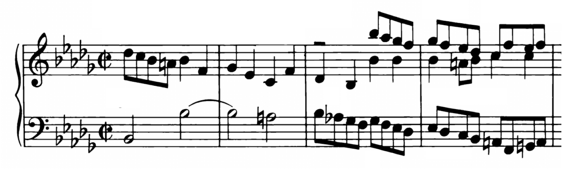 Bach Prelude and Fugue No.22 in Bb minor BWV 891 Analysis 1