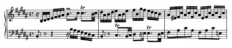 Bach Prelude and Fugue No.23 in B major BWV 892 Analysis 1