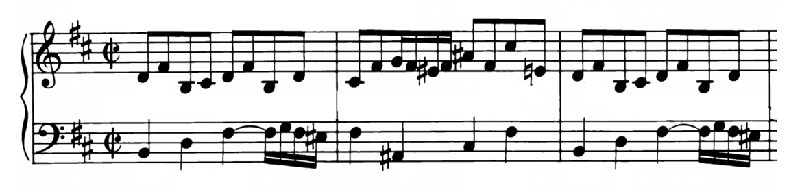 Bach Prelude and Fugue No.24 in B minor BWV 893 Analysis 1