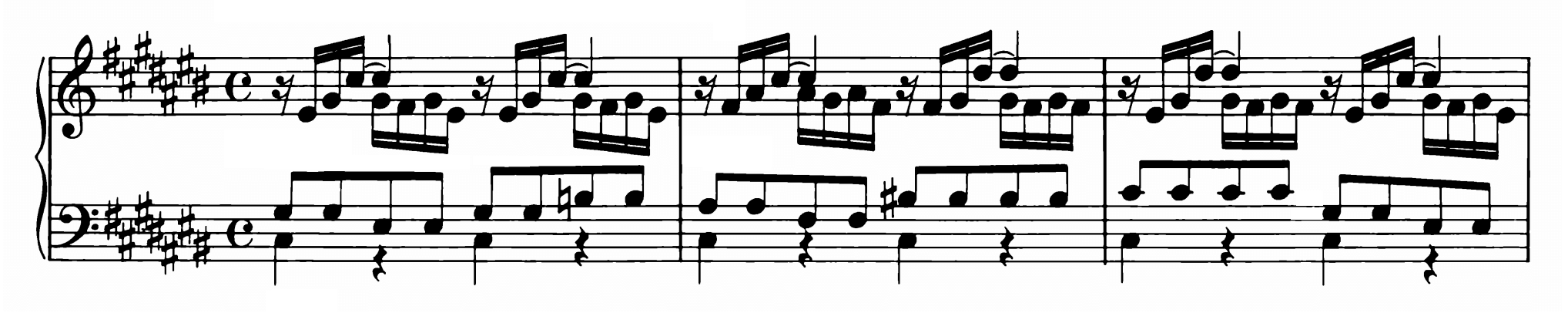 Bach: Prelude and Fugue No.3 in C♯ major, BWV 872 Analysis