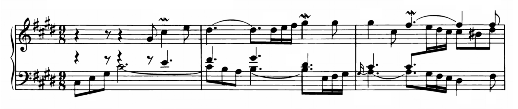 Bach Prelude and Fugue No.4 in C# minor BWV 873 Analysis 1