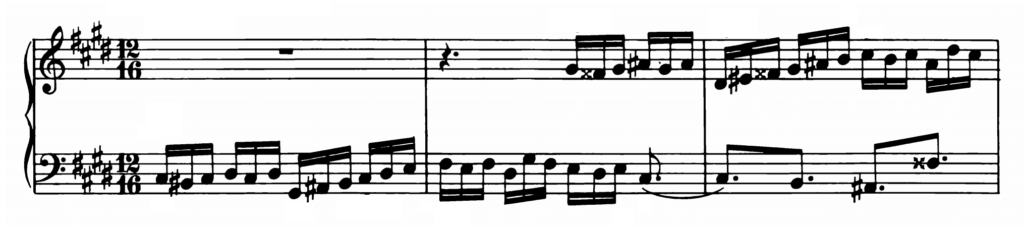 Bach Prelude and Fugue No.4 in C# minor BWV 873 Analysis 2