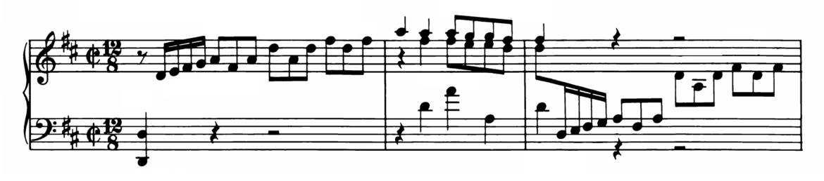Bach Prelude and Fugue No.5 in D major BWV 874 Analysis 1