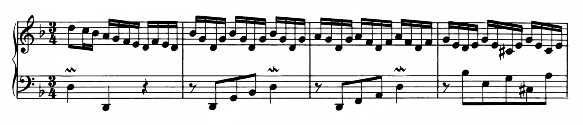 Bach Prelude and Fugue No.6 in D minor BWV 875 Analysis 1