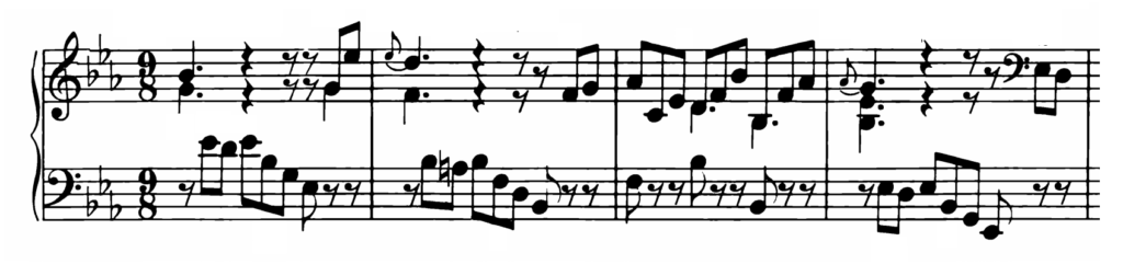 Bach Prelude and Fugue No.7 in Eb Major BWV 876 Analysis 1