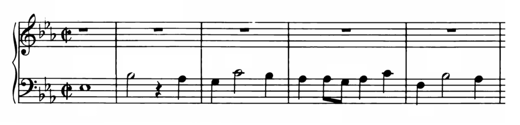 Bach Prelude and Fugue No.7 in Eb Major BWV 876 Analysis 2