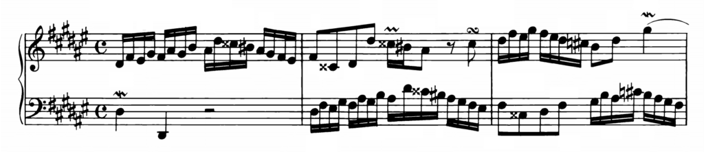 Bach Prelude and Fugue No.8 in D# minor BWV 877 Analysis 1