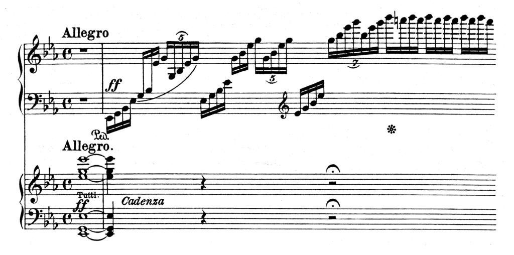 Beethoven Piano Concerto No.5 in Eb Major Op.73 Emperor Analysis 1