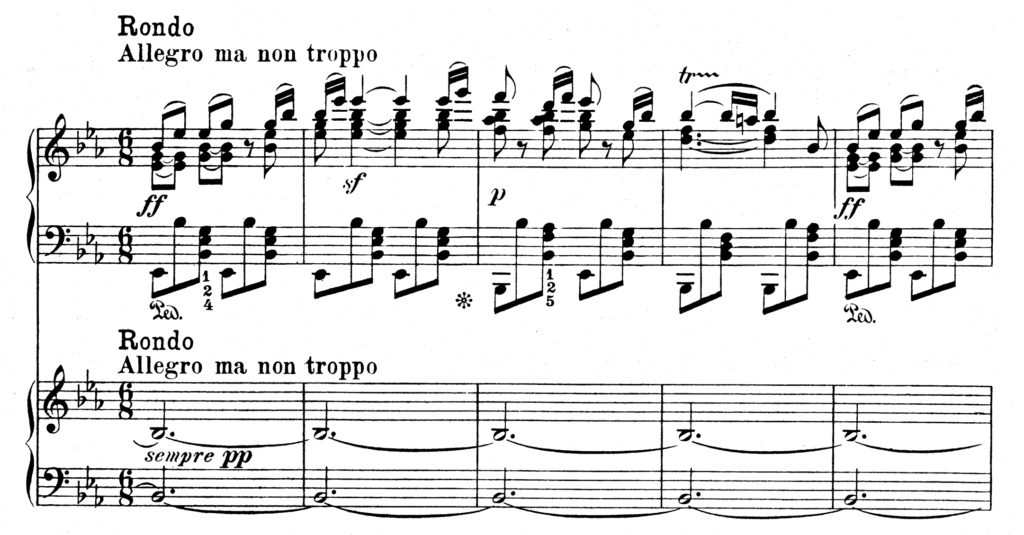 Beethoven Piano Concerto No.5 in Eb Major Op.73 Emperor Analysis 3