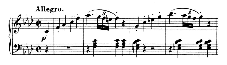 Beethoven Piano Sonata No.1 in F minor, Op.2 No.1 Analysis 1