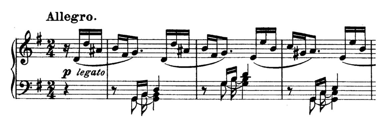 Beethoven Piano Sonata No.10 in G major, Op.14 No.2 Analysis 1