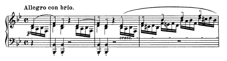 Beethoven Piano Sonata No.11 in Bb major, Op.22 Analysis 1