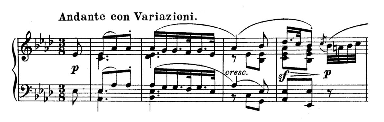 Beethoven Piano Sonata No.12 in Ab major, Op.26 Analysis 1