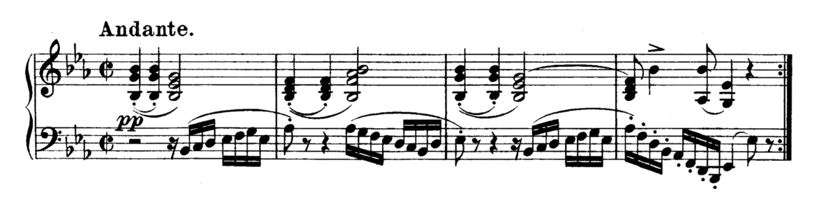 Beethoven Piano Sonata No.13 in Eb major, Op.27 No.1 Analysis 1