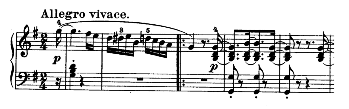 Beethoven Piano Sonata No.16 in G major, Op.31 No.1 Analysis 1
