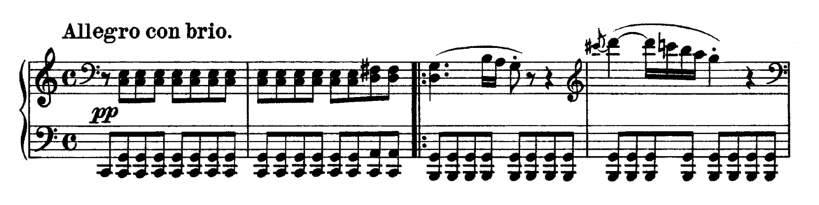 Beethoven Piano Sonata No.21 in C major, Op.53 'Waldstein' Analysis 1