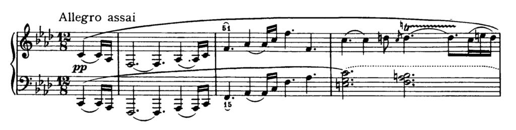 Beethoven Piano Sonata No.23 in F minor, Op.57 'Appassionata' Analysis 1